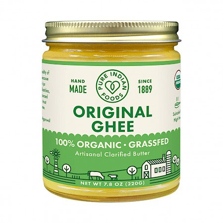 Pure Indian Foods Ghee, Grassfed & Certified Organic