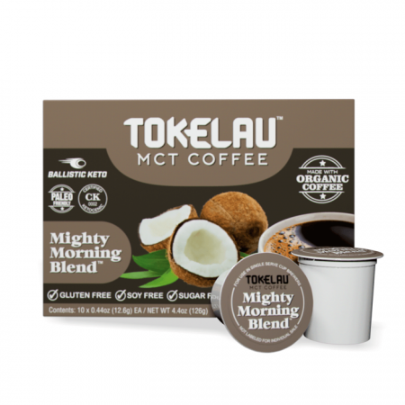 Tokelau MCT Coffee Mighty Morning Blend Pods