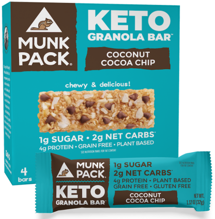 Munk Pack Coconut Cocoa Chip Granola Bar