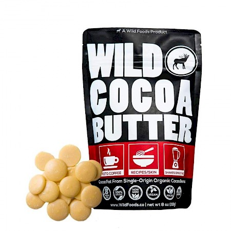 Wild Foods Cocoa Butter Wafers